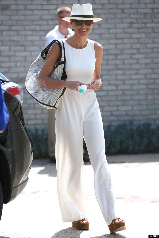 minnie driver- all white