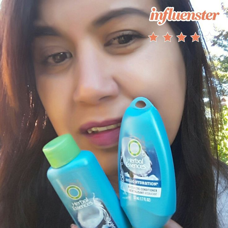 Clean & Healthy hair that smells like the tropics. Complimentary of #InfluensterCanada @HerbalEssences