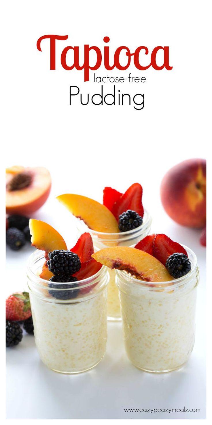 Tapioca Pudding (Lactose Free)! Tapioca like your grandma made it. So yummy, and lactose free! #livethefairlife #ad - Eazy Peazy Mealz