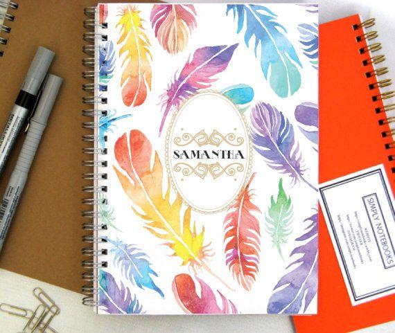 2016 Planner 2016 Weekly Planner Custom Planner Journal 2016 Diary Notebook Custom Gift Large Planner Gift for friend Student Planner