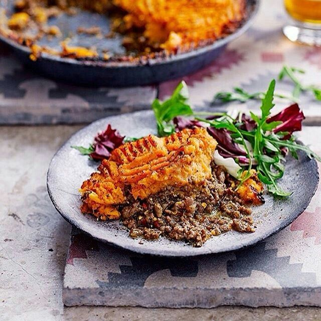 Who doesn't love a good pie? This spiced veal version, spiked with miso and topped with sweet potato, by@themodernpantry head chef Anna Hansen is a proper winter warmer. Find it along with loads more winning pie recipes from some of the UK's top chefs in our February issue, out now. #whoateallthepies  by@garethmorgansphoto