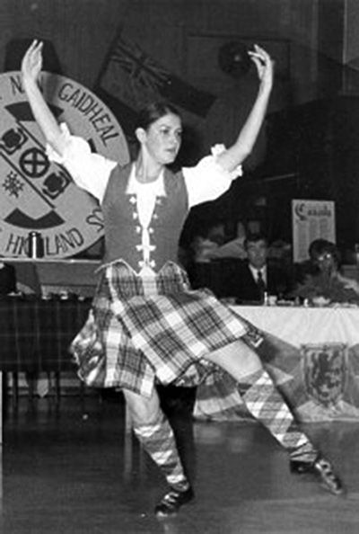 Janice Macquarrie of Doctor's Brook, Antigonish County, was a consistent champion at the Highland Games from mid 1960s to 1980.