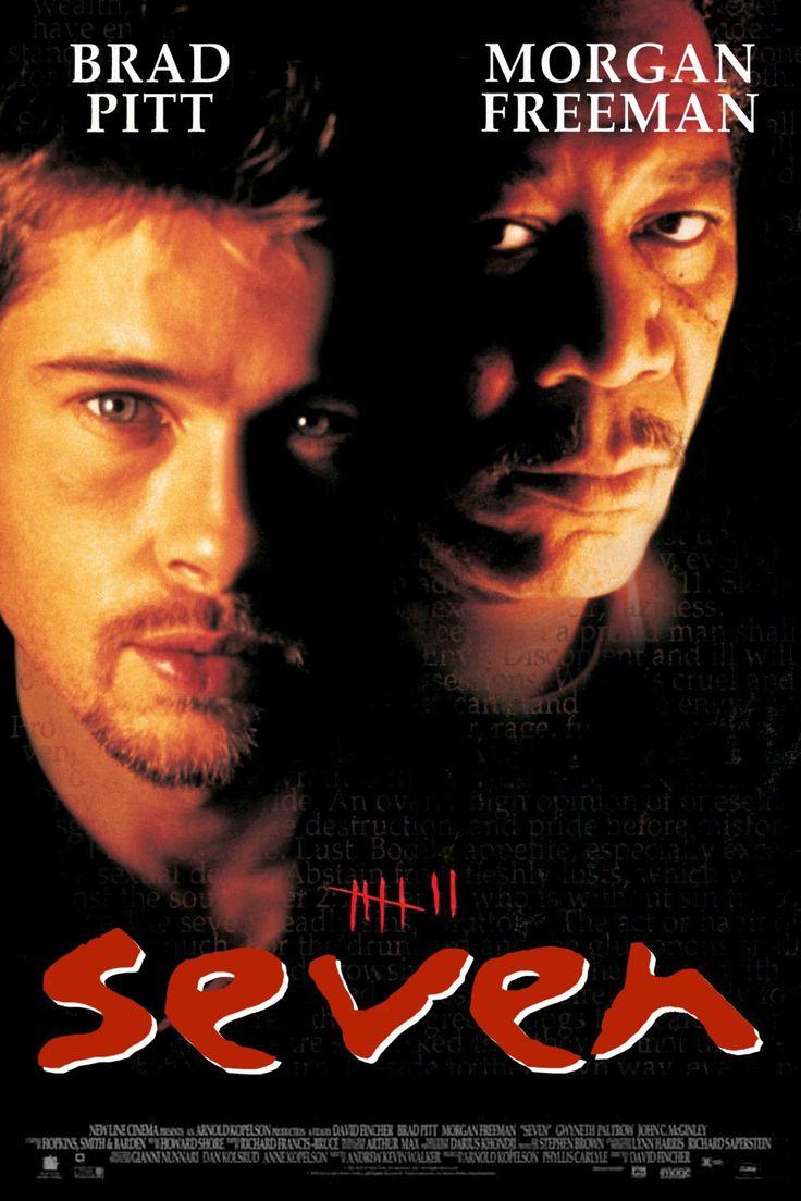 Seven, film completo thriller del 1995 in streaming HD gratis in italiano, guarda online a 1080p e fai download in alta definizione. Seven, talvolta reso graficamente comeSe7en, è unfilmdel1995diretto daDavid Finchere interpretato daBrad Pitt,Morgan FreemaneKevin Spacey.