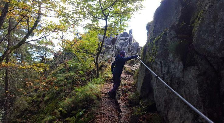 Unterwegs auf dem Sentier des Roches: der Felsenpfad in den Vogesen!