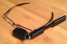 Raspberry Pi Glasses Offer $100 DIY Alternative To Google Glass - The new Raspberry Pi glasses hack creates a wearable video display that you can attach to your own glasses­ creating a $100 wearable computer, powered by a Raspberry Pi mini PC. | Geeky Gadgets #wearables