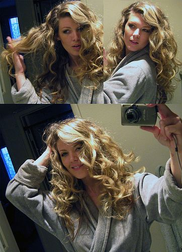 how to get curly hair by sleeping on wet hair at night