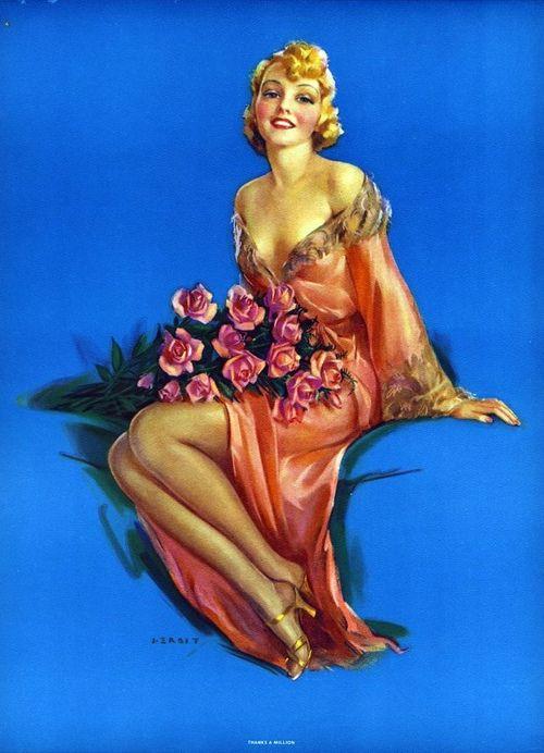 Jules Erbit 1930s Painted Ladies Pinterest 1930s