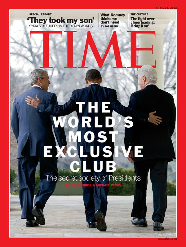 April 23, 2012: The Presidents Club. Read the cover story here: http://ti.me/HPaSuS