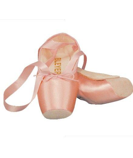 Spitzentanzschuhe Ballettschuhe schwarz weiss oder rosa mit Satinband Fibrbrandsohle und Lederkappe