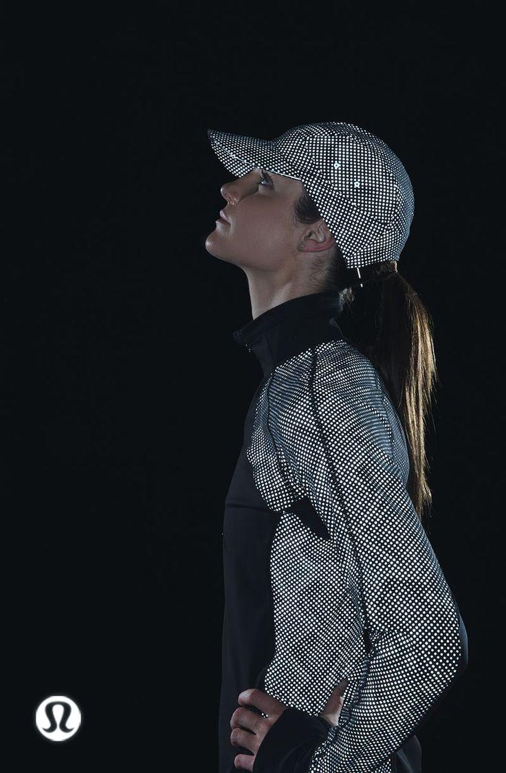 Lululemon Reflective Workout Jacket and Cap // Explore Lululemon's Exclusive Black Friday Collection: (http://www.racked.com/2015/11/18/9757124/lululemon-black-friday-2015)