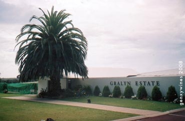 Gralyn Estate Late Harvest Cabernet - a nice sweet red from WA