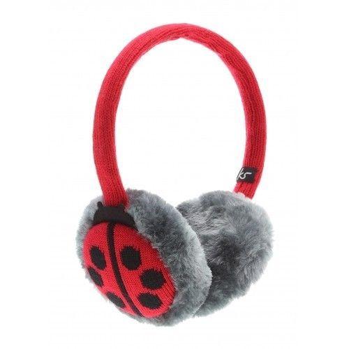 Kitsound Audio Earmuffs Headphones Ladybird Design - iPod Smartphone MP3 Player in Sound & Vision, Headphones | eBay