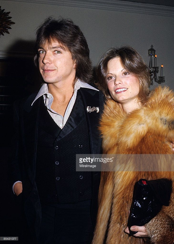 David Cassidy and wife Kay Lenz