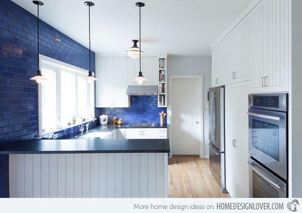 17 Beautiful Contemporary U-Shaped Kitchen Layouts