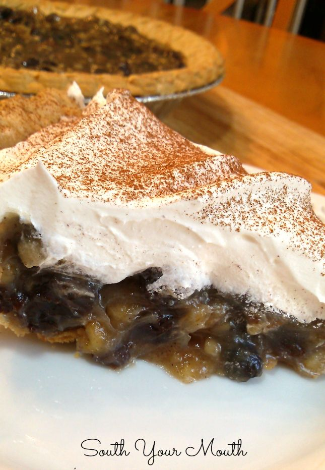 Vintage Sour Cream Raisin Pie