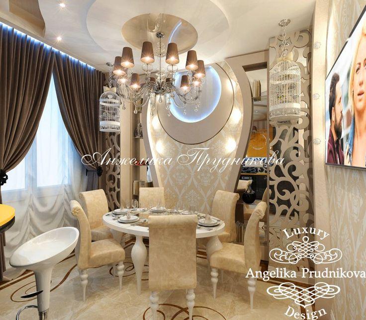 Дизайн квартиры в стиле ар-нуво в ЖК «Город Набережных» - фото