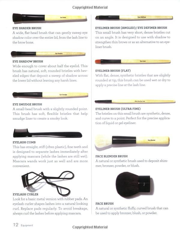 bobbi brown brushes uses. bobbi brown makeup manual: for everyone from beginner to pro ii brushes uses e