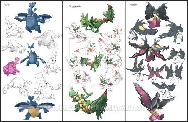 Comission Pokemon Sheet by zacharybla.deviantart.com on @DeviantArt
