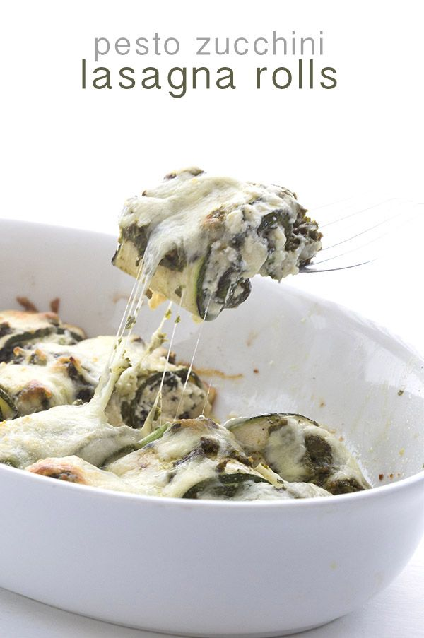 These low carb zucchini lasagna rolls are stuffed with cheese, slathered in pesto, and smothered in mozzarella. All the great flavours of summer in one healthy side dish. Mary, Mary, quite contrar…