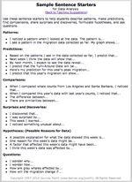 sentence starters | Gray Whales | Pinterest | Sentence starters ...