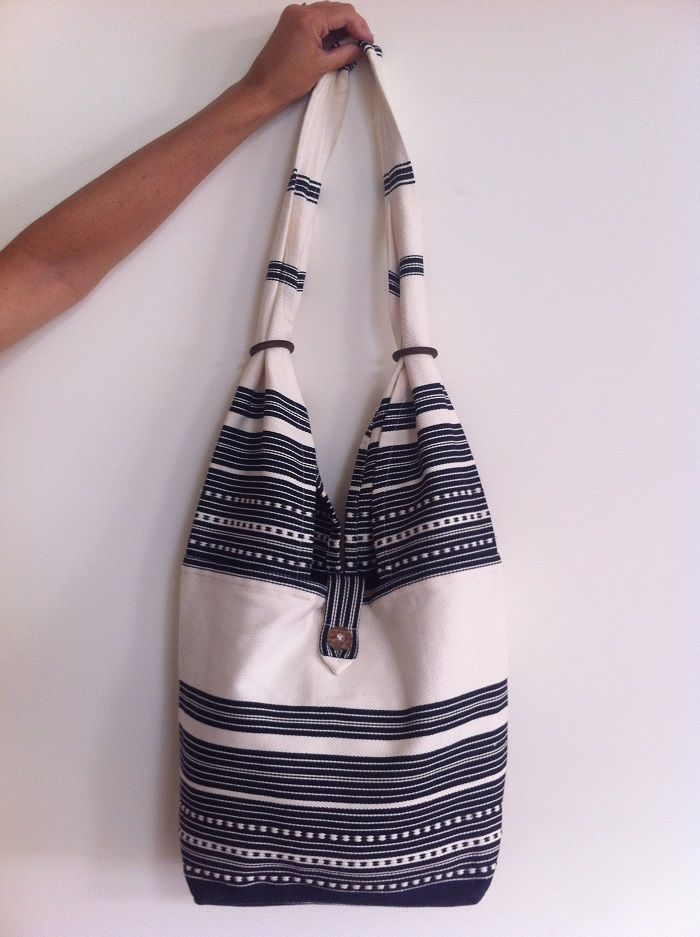 PIROSKA's Festival shoulder bag comes in blue or red. Great to throw your stuff in and go!  www.piroska.com.au
