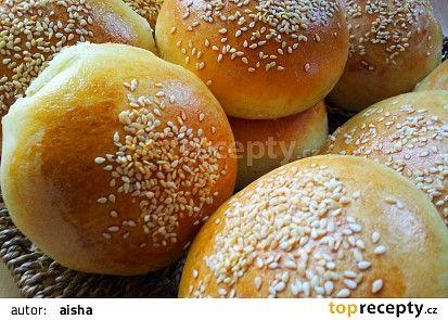 Housky na hamburger recept - TopRecepty.cz