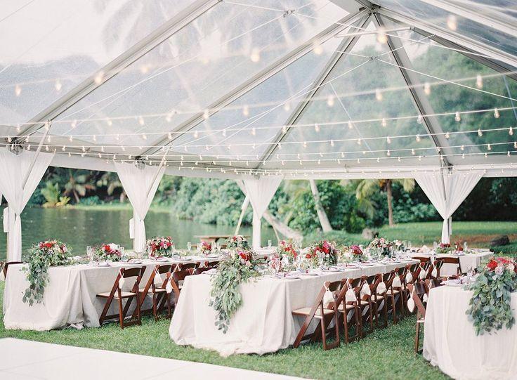 Hawaii destination wedding for Casey & Justin, Kualoa Ranch's Hale Moli'i Pavilion, The Great Romance Photography, A Good Affair