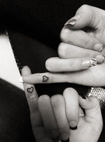 63 Trendy Ideas Tattoo Simple Heart Best Friends –  – #smalltattoos