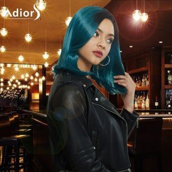 SHARE & Get it FREE | Adiors Side Parting Medium Ombre Straight Synthetic WigFor Fashion Lovers only:80,000+ Items·FREE SHIPPING Join Dresslily: Get YOUR $50 NOW!