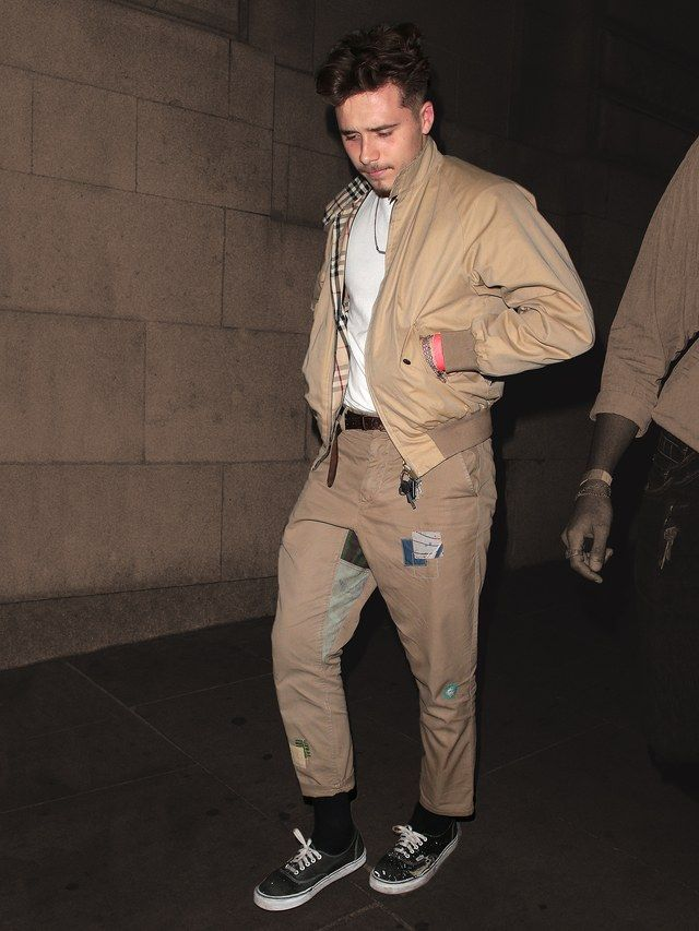 25655aa81e Brooklyn Beckham Knows the Value of Having a Favorite Jacket ...