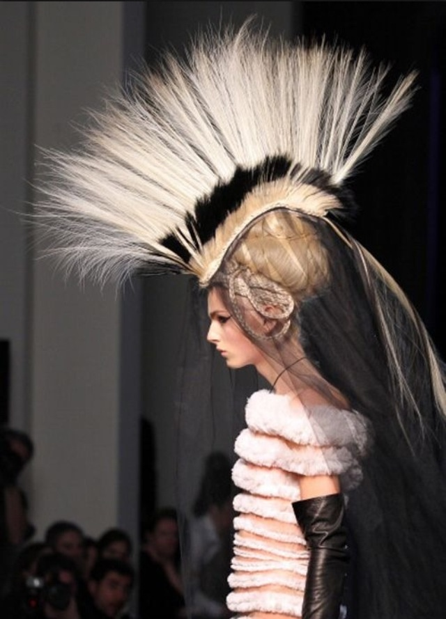 Headdress ... Would Be Cool In Black And White Studio Shoot