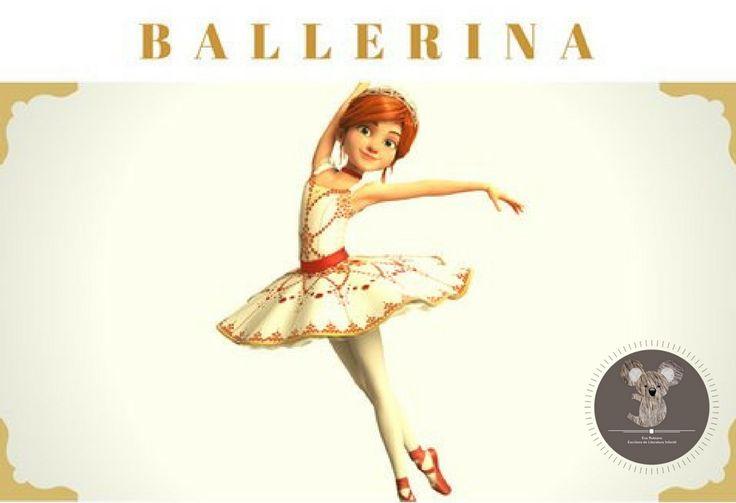 #ballerina #evarubiano @evarubiano #cineparaniños #estrenos