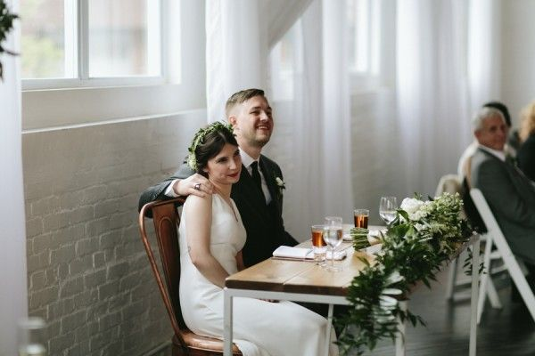 This Reading Art Works Wedding Takes Modern Minimalism to the Next Level