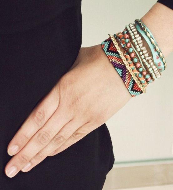 Boho Braided Bracelets <3