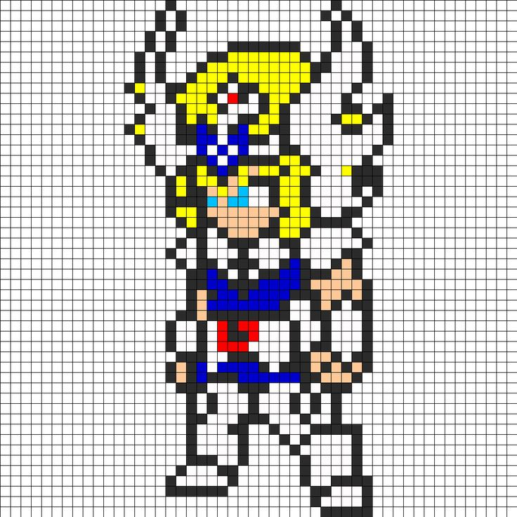 15 best anime images on Pinterest   Hama beads, Perler beads and ...