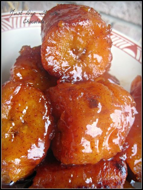 Sweet Plantains with Coca-Cola Recipe (Platanos en Tentacion) A different way to prepare this humble fruit and a very tasty way to introduce...