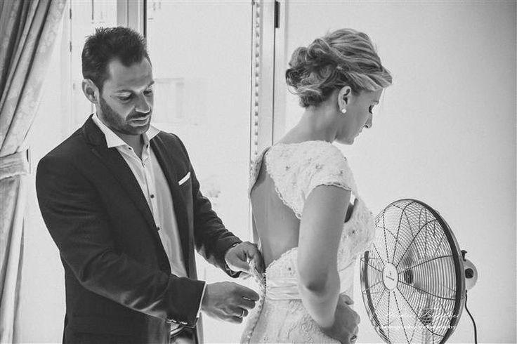 Φωτογράφηση γαμπρού και νύφης στην Κεφαλλονιά