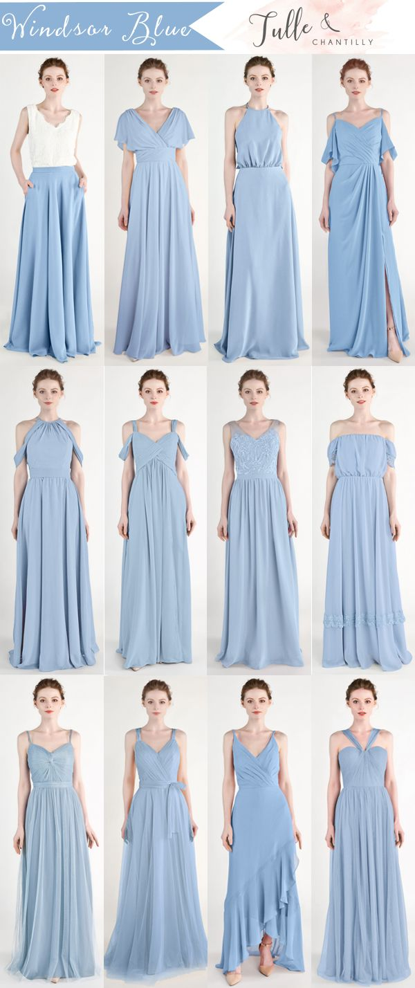 Long Short Bridesmaid Dresses 79 149 Size 0 30 And 50 Colors Blue Bridesmaid Dresses Periwinkle Bridesmaid Dresses Short Bridesmaid Dresses