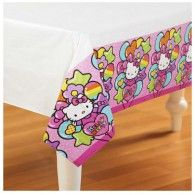 Hello Kitty Rainbow Tablecover Plastic, $11.95, A571417