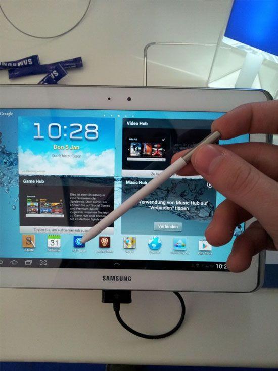 En uppdaterad Samsung Galaxy Note 10.1 är på väg.