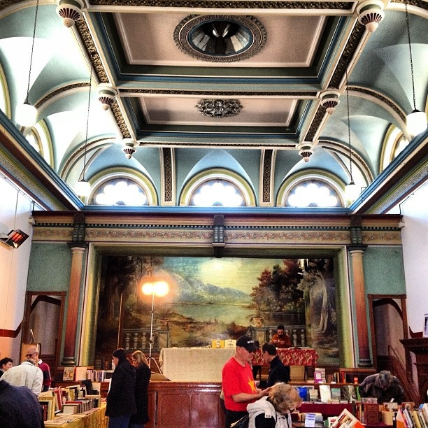 Clunes town hall #booktown #bookfestival #books