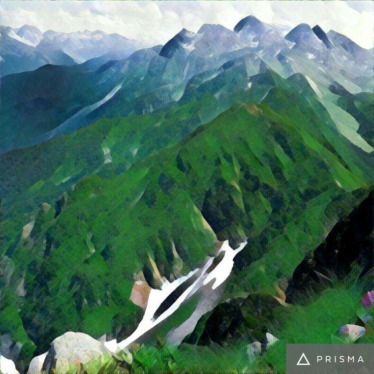 Призма Prizma Кавказские горы Сочи Красная поляна Природа Фотография Россия Фото