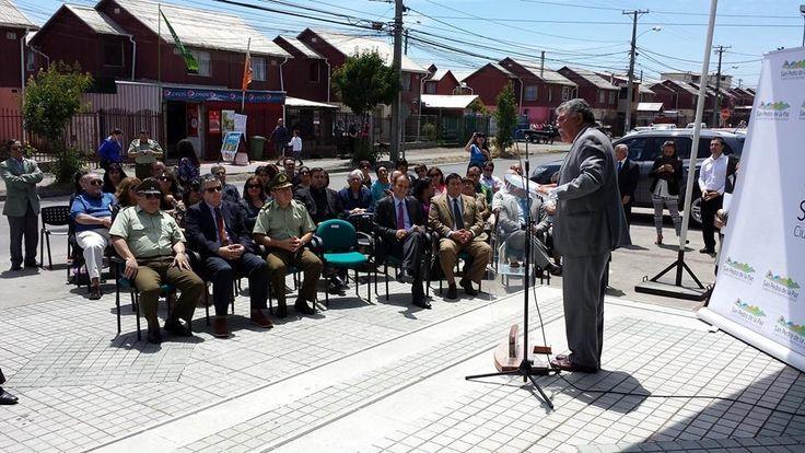 Video de Alta Definicion Avigilon en Chile, inaguracion de sala multisitio para monitoreo de camaras en la comuna