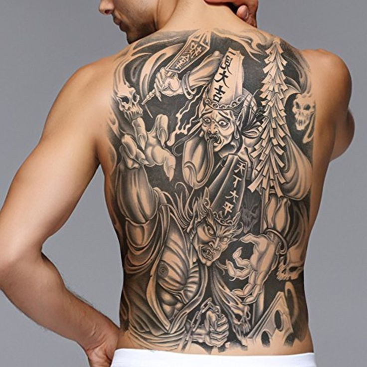 19+ Stunning Traditional grim reaper back tattoo image ideas