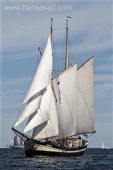 """Sailing Ship """"Zuiderzee"""" at Hanse Sail Rostock."""