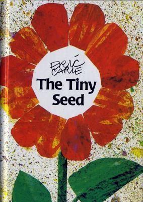 The Tiny Seed - Eric Carle; Varsta: 1-6 ani; In stilul sau propriu, autorul ne spune povestea fascinanta a ciclului de viata al unei flori pornind de la aventurile unei mici seminte. Purtate de vant din toamna, semintele mici ce fac eo calatorie prin lume si traieste diverse aventuri. In final, tousi aceasta razbeste si creste aproapte neobservata.  Cu un mesaj incurajator de perseverenta, cartea este o mare bucurie pentru copii si parinti.