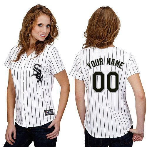 Chicago White Sox Women's Personalized Replica Jersey by Majestic Athletic - MLB.com Shop