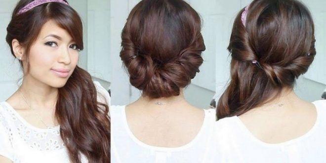 Frisur haare seitlich eindrehen für feines haar