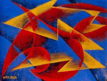 Giacomo Balla - 1913. Italian artist and one of the founding members of Futurism. He had very little formal art training.