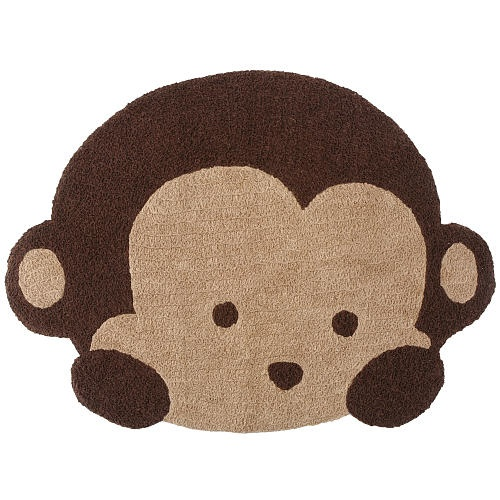 Monkey rug  Mod Pod Monkeys This is our nursery theme!
